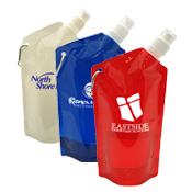 Custom 27 oz. Collapsible Reusable Water Bottle