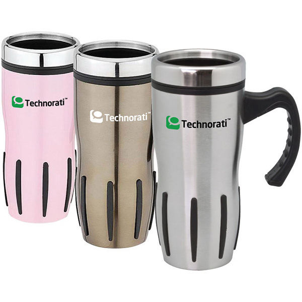 Imprinted Placentia - 16 oz Travel Mug