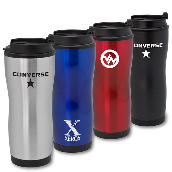 Customized Hughson - 16 oz Stainless Steel Tumbler
