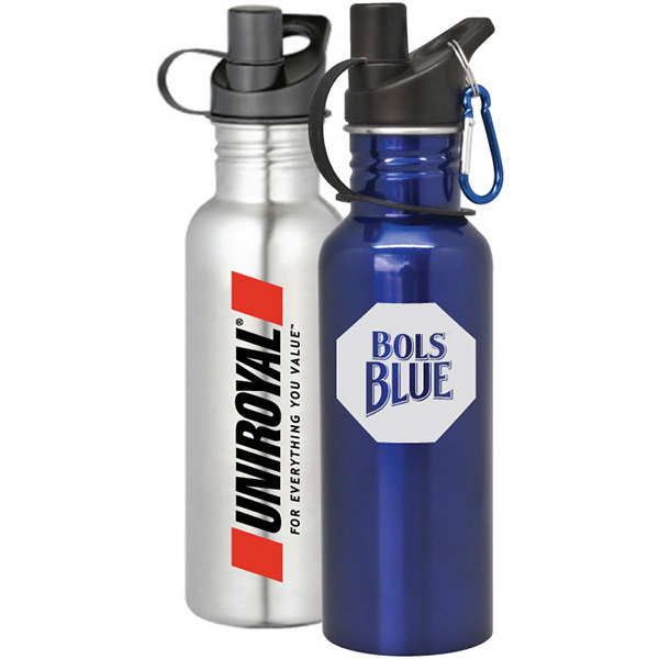 Personalized Glendale - 25 oz Stainless Steel Sports Bottle