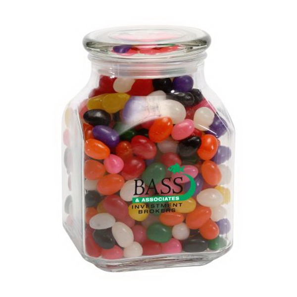 Promotional Standard Jelly Beans in Large Glass Jar