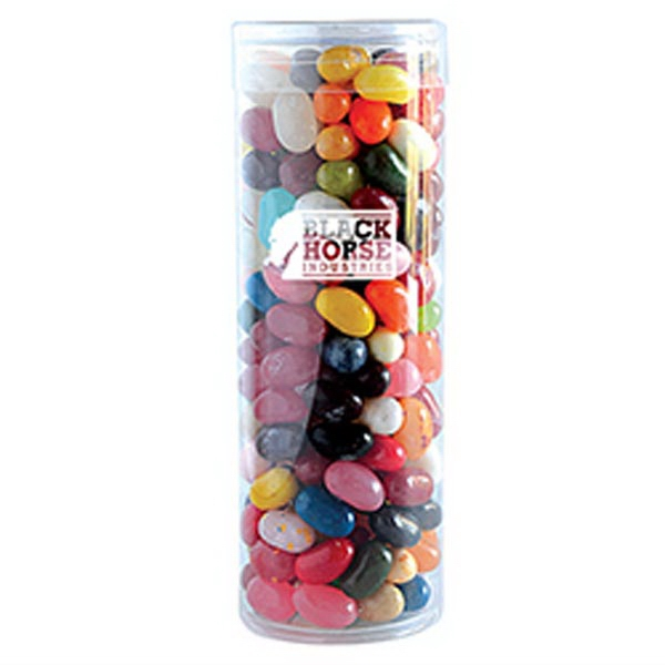 Imprinted Jelly Bellys in Fun Tube