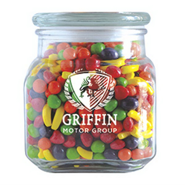 Customized Runts in Large Glass Jar