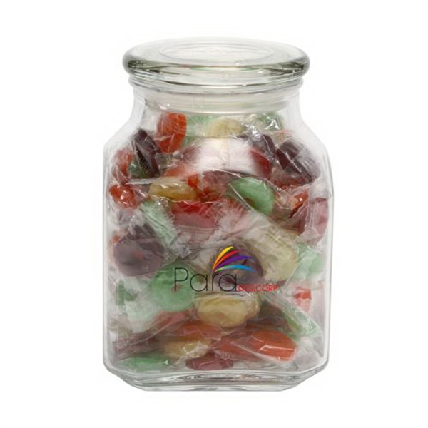 Promotional Life Savers in Large Glass Jar