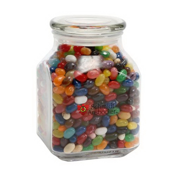 Personalized Jelly Bellys in Large Glass Jar