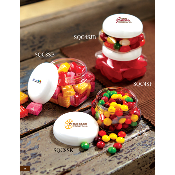 Customized in Large Snack Canister (empty)