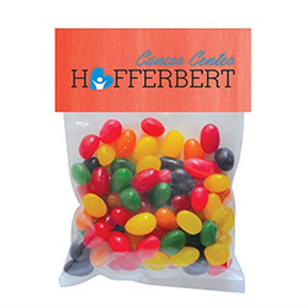 Personalized Standard Jelly Beans in Large Header Pack