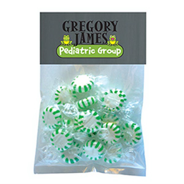 Printed Striped Spear Mints in Large Header Pack