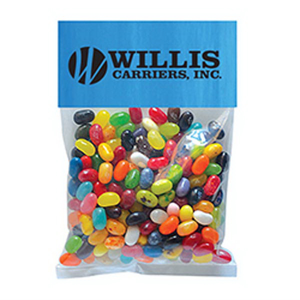 Promotional Jelly Bellys - 1 Color in Large Header Pack