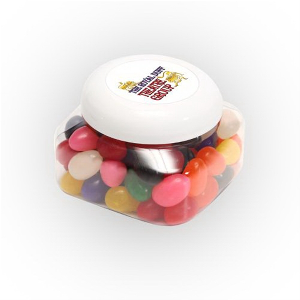 Personalized Standard Jelly Beans in Large Snack Canister