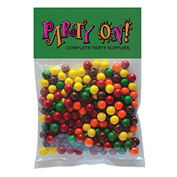 Printed Sixlets - 1 Color in Large Header Pack
