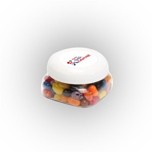Personalized Jelly Bellys in Small Snack Canister