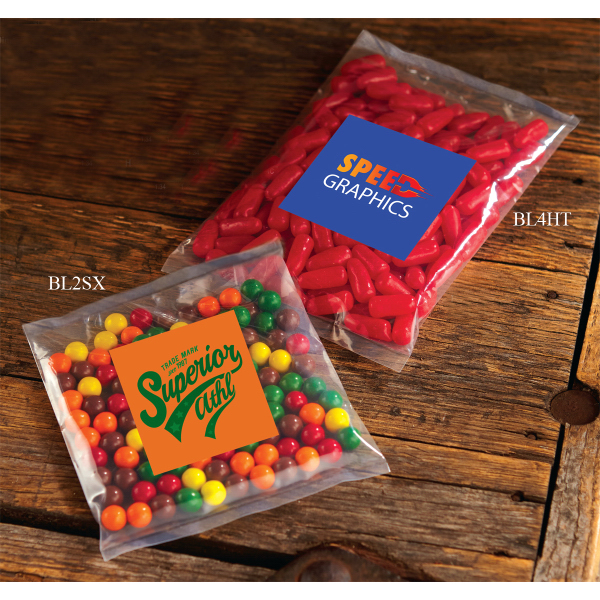 Promotional Jelly Bellys - 1 Color in Small Label Pack
