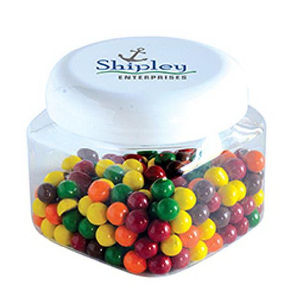 Printed Sixlets in Large Snack Canister