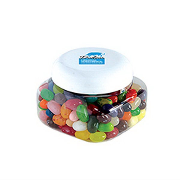 Customized Jelly Bellys - Single Color in Small Snack Canister