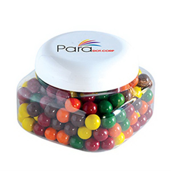Customized Sixlets - Single Color in Small Snack Canister