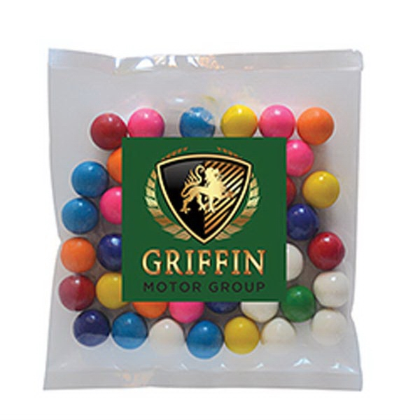Personalized Gum Balls in Small Label Pack