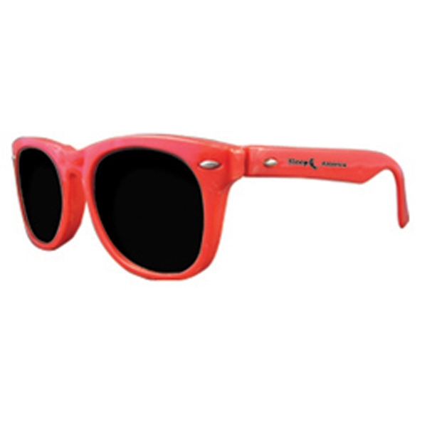 Customized Premium solid red sunglasses