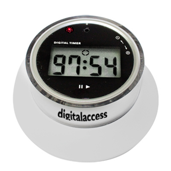 Personalized Side setting digital timer