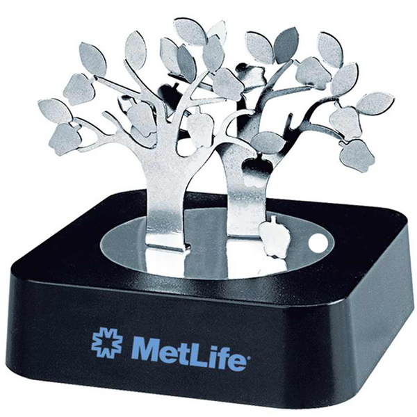 Personalized Magnetic apple tree sculpture block