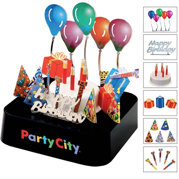 Customized Birthday party magnetic sculpture block