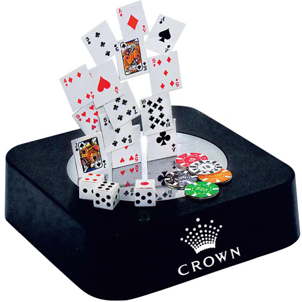 Personalized Poker magnetic sculpture block