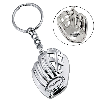 Promotional Baseball glove key chain