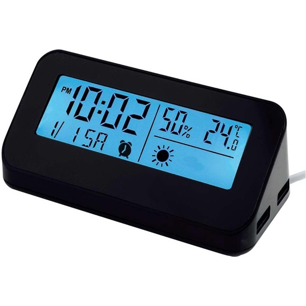 Custom Weather station hub clock