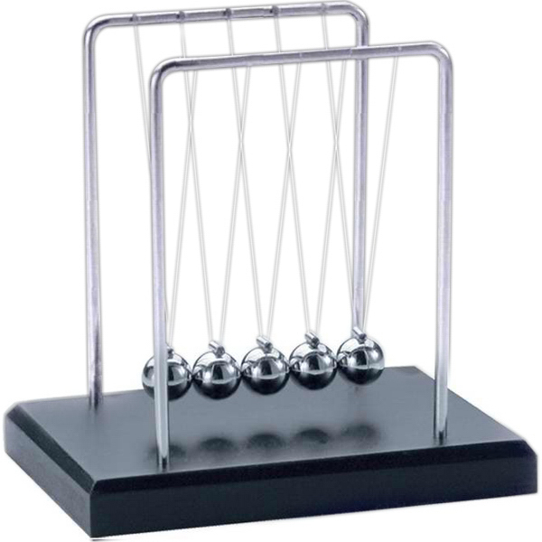 Imprinted Small Newton's cradle