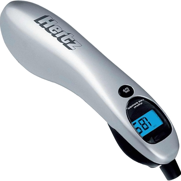 Printed Digital tire gauge with LED light