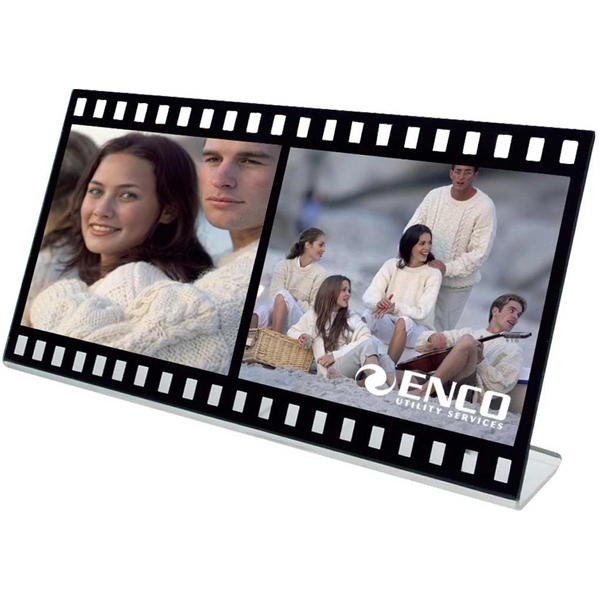 Printed Acrylic filmstrip photo frame