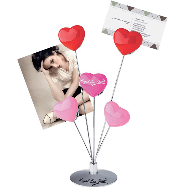 Promotional Five-heart memo holder