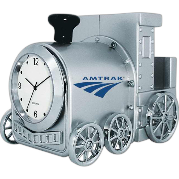 Printed Locomotive clock