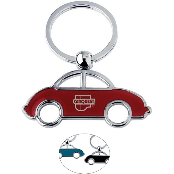 Imprinted Car key ring