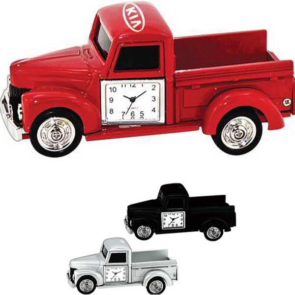 Personalized Metal pick up truck clock