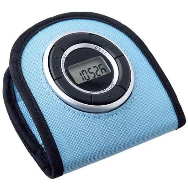 Printed Pouch pedometer alarm clock