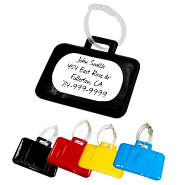 Personalized Suitcase luggage tag