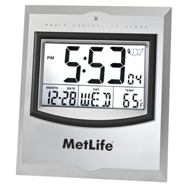 Imprinted Radio controlled clock