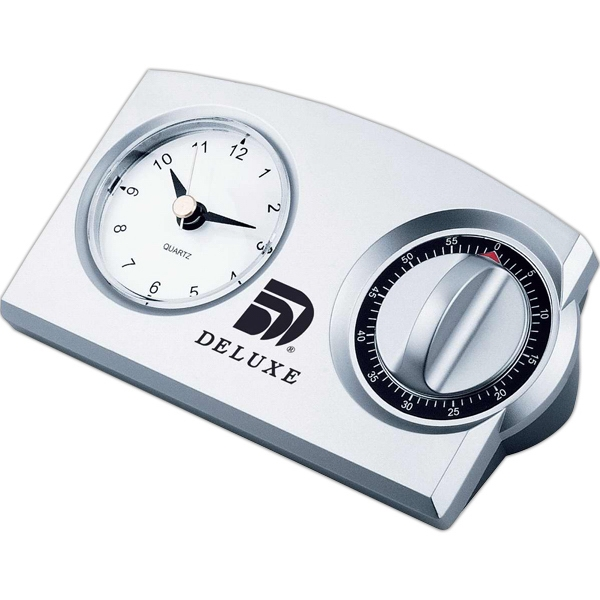 Imprinted Clock timer