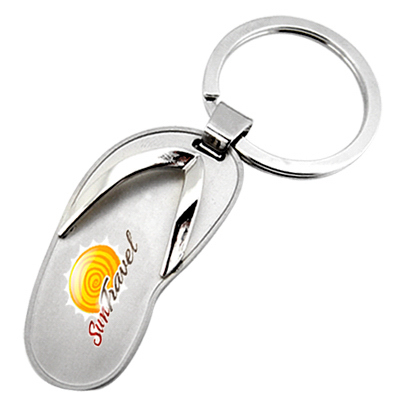 Promotional Metal sandal key chain