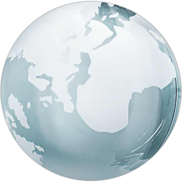 Customized Glass globe paperweight
