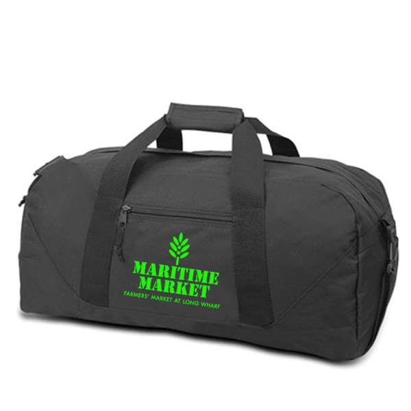 Personalized Large duffel bag