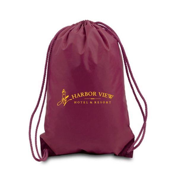 Promotional Premium Drawstring Backpack