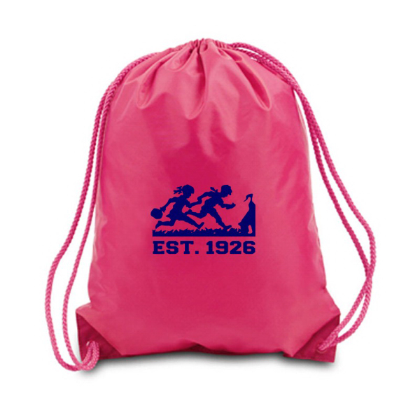 Printed Large Drawstring Backpack