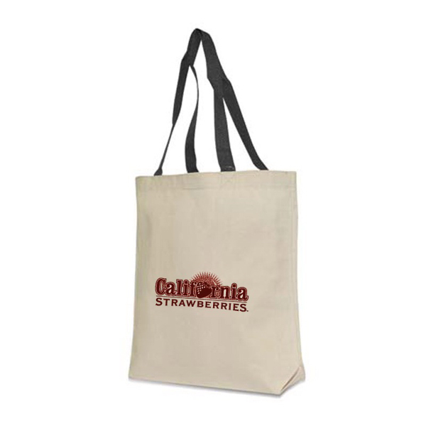 Promotional Contrast Handle Tote