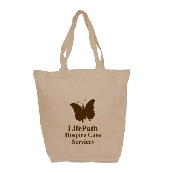 Imprinted Medium Cotton Tote