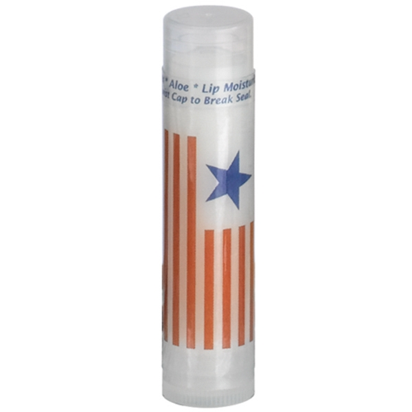 Customized SPF 30 Soy Lip Balm in Clear Tube