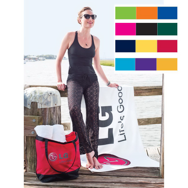 Promotional Signature Superior Weight Beach Towel