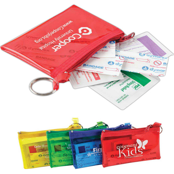 Promotional Rainbow Colors First Aid Kit