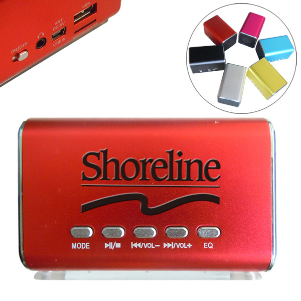 Personalized Mini Portable Square Speaker